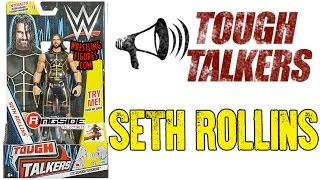 WWE FIGURE INSIDER: Seth Rollins - Mattel WWE Tough Talkers Series 1!