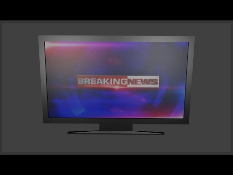 how to make a tv /television with text