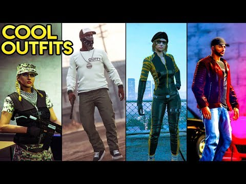 GTA Online 15+ Awesome Outfits! (Street Racer, Female Special Forces, Louis Vuitton & More)