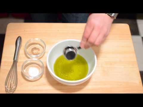 How to Make Champagne Vinagrette