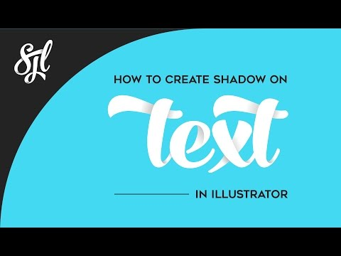 How to create shadow on Text and make text depth in illustrator
