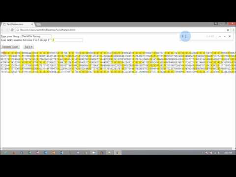 Send Hidden Message To Anyone using HTML/Javascript Program | The MOIs Factory