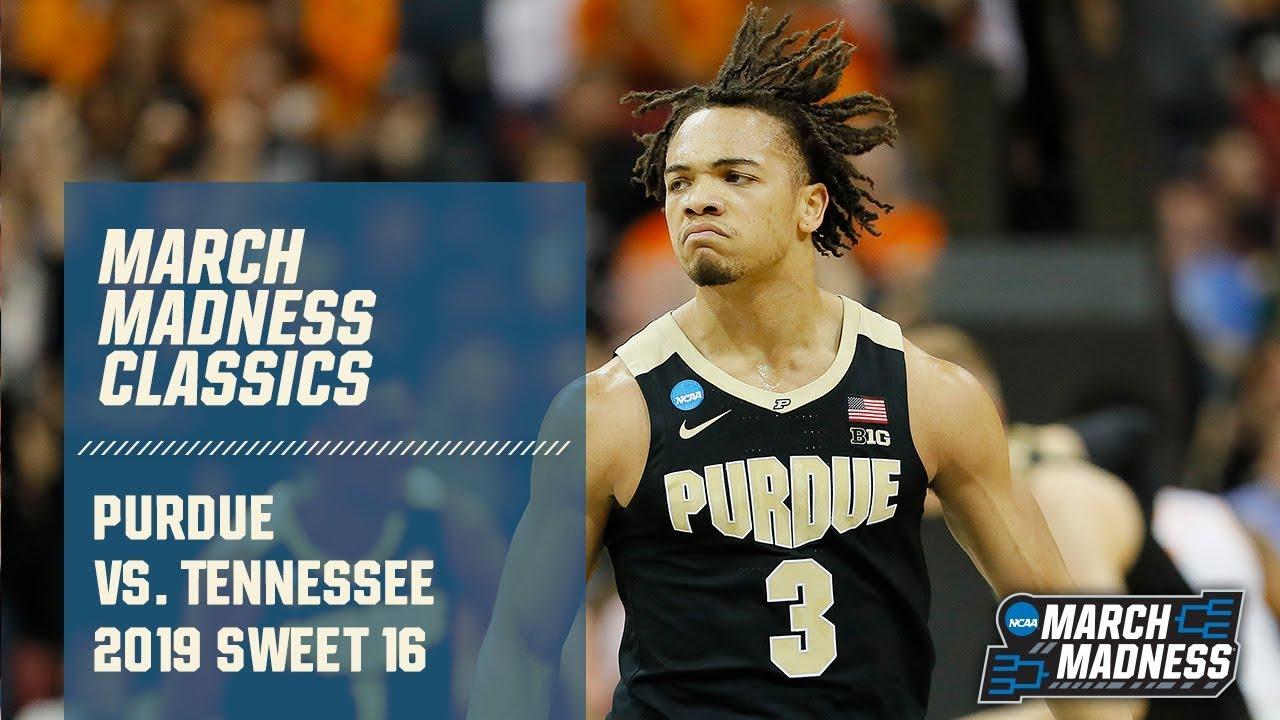 Purdue vs. Tennessee: 2019 Sweet 16 | FULL GAME