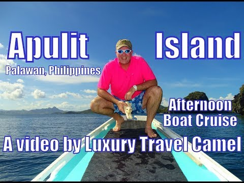 Apulit Island Resort (Palawan, Philippines) -- An Afternoon Boat Cruise