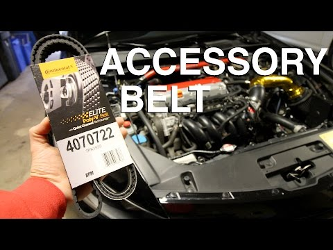 How to Replace a Serpentine Belt