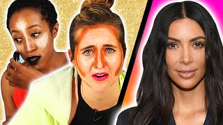 People Try Kardashian Beauty Secrets