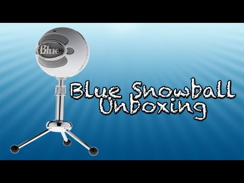 Blue Snowball ICE Unboxing (2015)