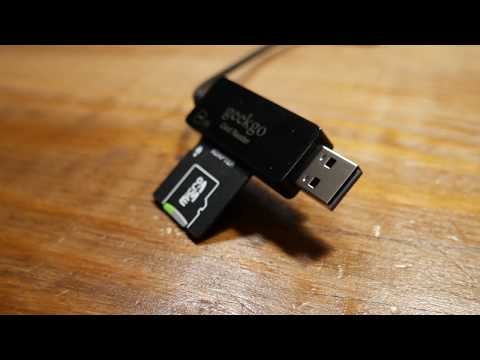 GeekGo SD and MicroSD Card Reader Full Review and Demo