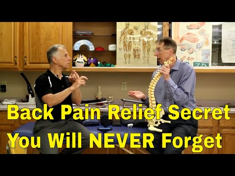 The One Back Pain Relief Secret You Will NEVER Forget