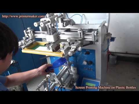 Plastic Bottles Silk Screen Printing Machine