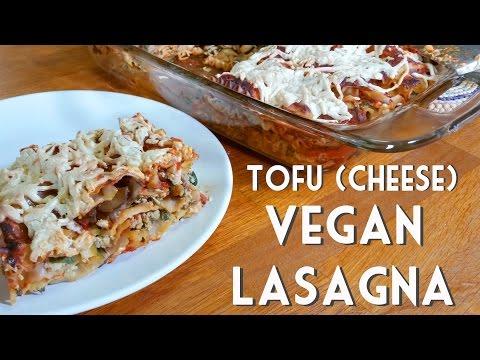 VEGAN LASAGNA with Spinach & Tofu