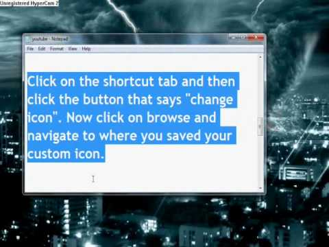 How to Change Icons in Windows 7 or Windows Vista