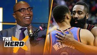 Caron Butler compares Harden to Westbrook, talks LeBron James