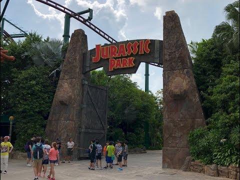 Jurassic Park: Universal Studios Singapore!