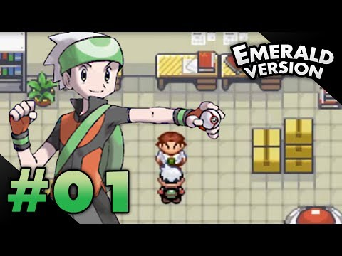Let's Play Pokemon: Emerald - Part 1 - A new quest!