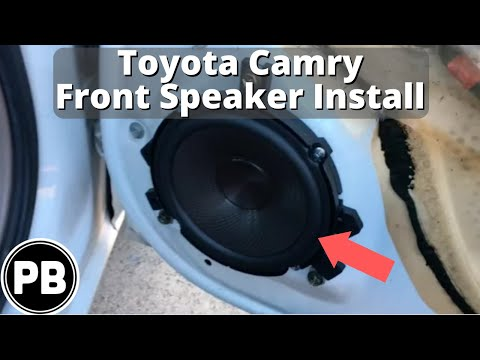 1997 - 2001 Toyota Camry Front Speaker Replacement