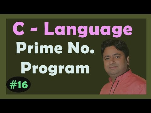C program prime number | How to code and Check Number is Prime or Not prime | Learn C by Manoj Sir