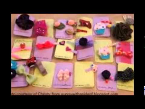 How To Make Baby Hair Clips