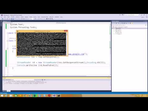 lecture 11 sending http request using c#