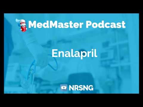 Enalapril Nursing Considerations, Side Effects, and Mechanism of Action Pharmacology for Nurses