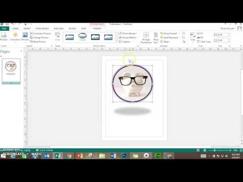 Insert & Format Pictures in MS Publisher