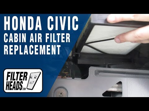 How to Replace Cabin Air Filter 2005 Honda Civic