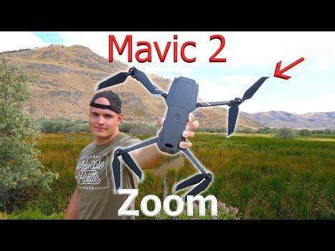 Mavic 2 ZOOM - Exploring Toxic Ruins with a NEW drone!