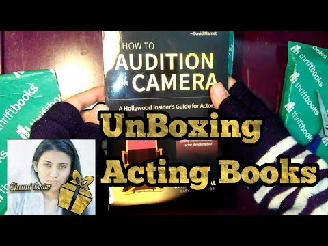 Unboxing   Acting Books   How To Audition