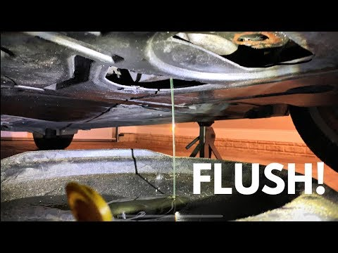 Here's How To Do a BMW Engine Oil Flush!