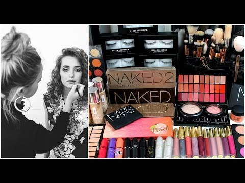 Whats in My Makeup Artisty Kit UPDATE || MAKEUP BY ANNALEE