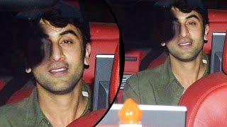 Ranbir Kapoor Spotted At Vidhu Vinod Chopra  House