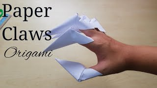How to make fancy origami dragon claws | Origami dragon, Origami ... | 180x320