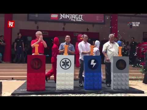 Ninjago ride to debut at Legoland Malaysia