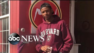 Student who went from homeless to Harvard credits writing program