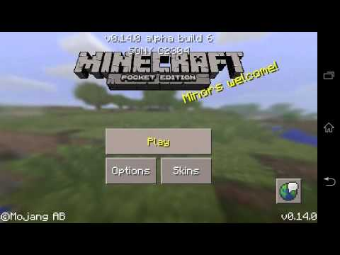 MINECRAFT PE BUG: ULTRAPASSAR A BEDROCK DO NETHER - MCPE 0.14.0/0.14.1