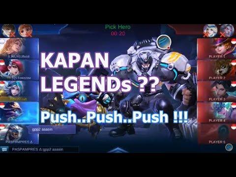 Kapan Legend ? - Push push push !!!!