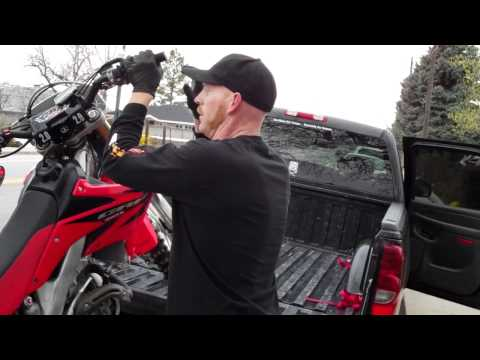 How to load / unload your dirtbike without a ramp