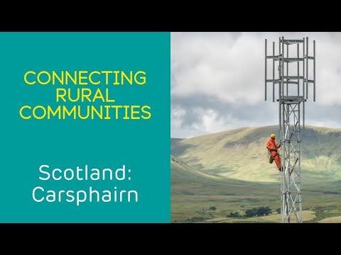 EE connecting rural Scotland with 4G mobile coverage