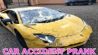 CAR ACCIDENT PRANK ON MY MUM AND DAD