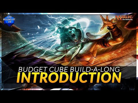 Budget MTG Cube Building Project - An Introduction