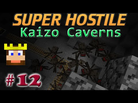 Super Hostile - Kaizo Caverns: Ep 12 - Easy Dungeons
