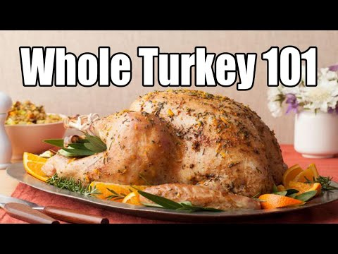 How to cook a MOIST and TENDER Turkey - Turkey Recipe