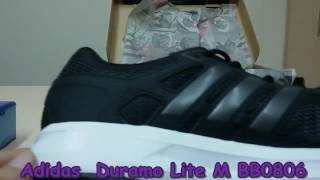 the best attitude 3a5ab 493c7 Unboxing Review sneakers Adidas Duramo Lite M BB0806