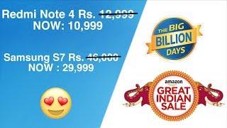 BEST SALE EVER!!😍 | Big Billion Days & Great Indian Sale🔥