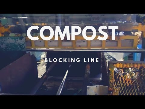 Composting Machinery - Second-Hand Compost Blocking Line