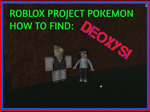 How to get Deoxys + GIVEAWAY! (Ended) - Roblox