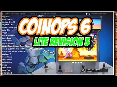 CoinOPS 6 Lite Revision 3 Original Xbox Retro Gaming Arcade Modding