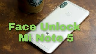 Face Unlock On Redmi Note 5 Pro || ( How to get ) ||  Redmi note 5 pro face unlock