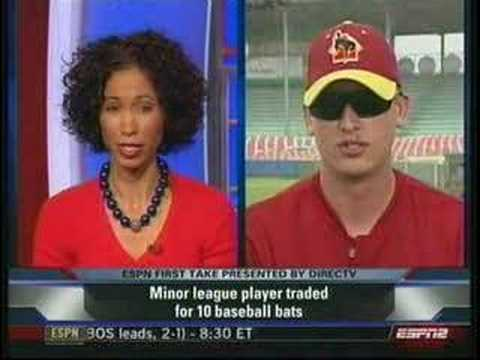 minor league baseball player traded for 10 bats