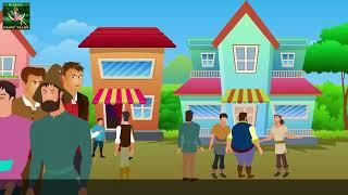البائع الطماع   The Greedy Milkman Story in Arabic   قصص اطفال   حكايات عربية
